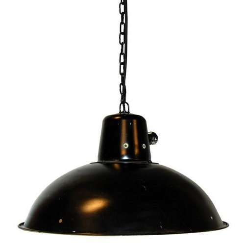 Trademark Living Industriële Hanglamp Zwart - Ø 41 cm