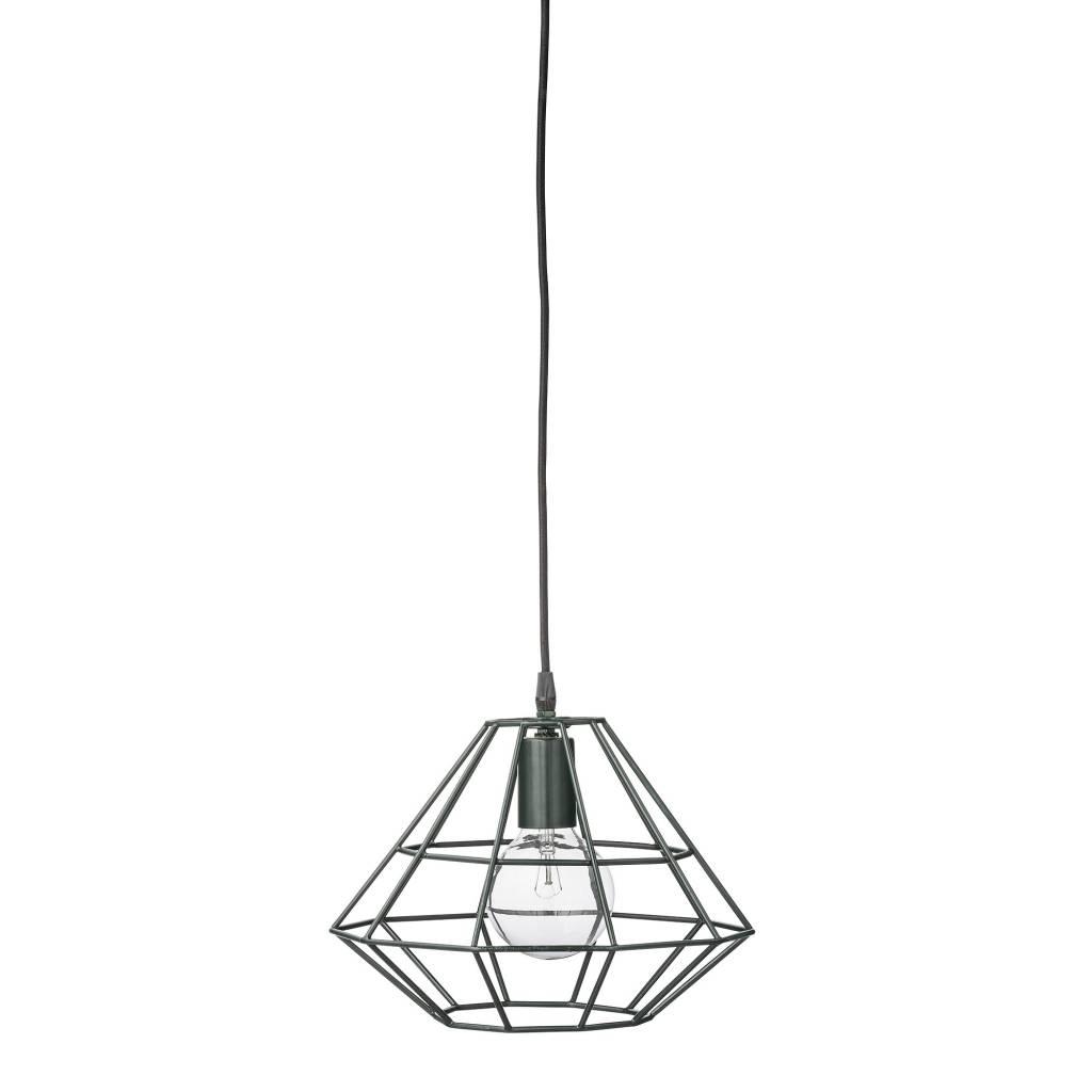 Donkergroene Hanglamp Pernille - Bloomingville