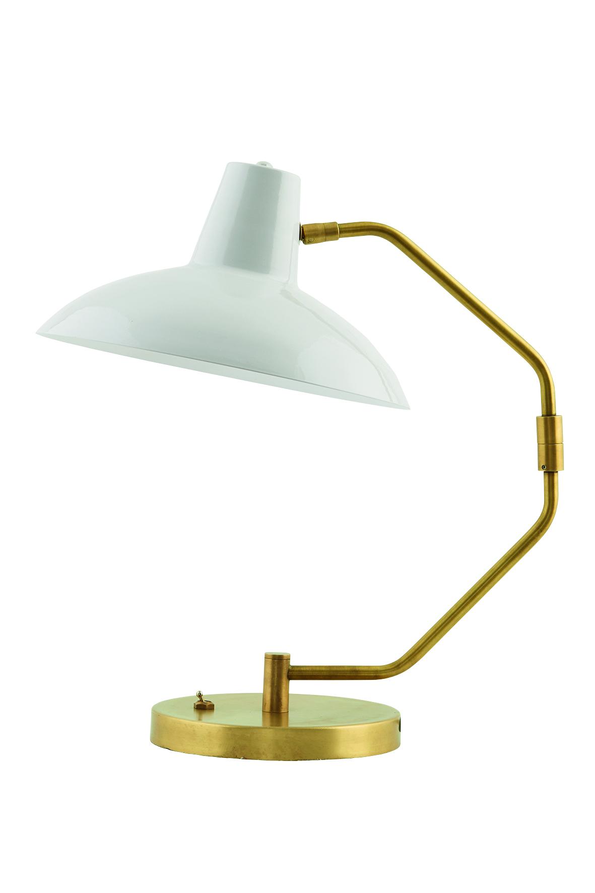 Witte Bureaulamp Note - House Doctor