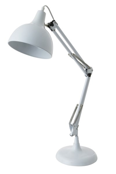 Witte Bureaulamp - Light & Living