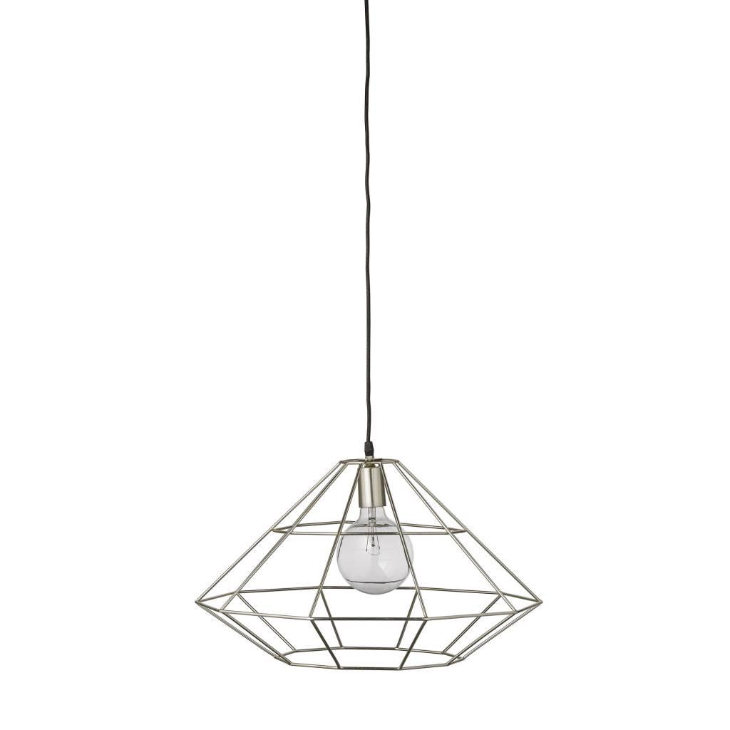 Zilver Hanglamp Pernille - Bloomingville