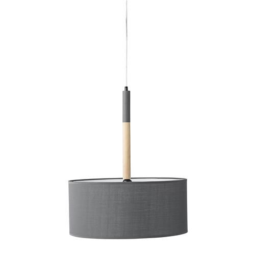 Hanglamp Hout/Grijs - Bloomingville