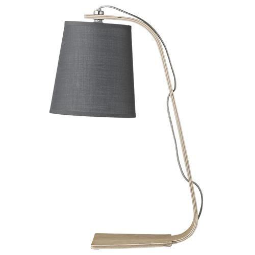 Tafellamp Hout/Grijs - Bloomingville