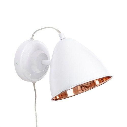 Witte Wandlamp - Hübsch Interior