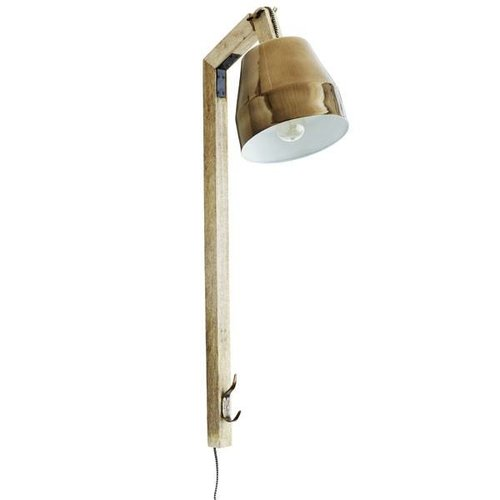 Madam Stoltz Wandlamp Koper - 23x39x90 cm