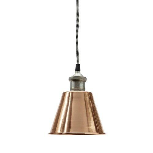 Hübsch Interior Metalen Hanglamp Koper - 19 cm