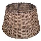 Sweet Living Bruine Rieten Lampenkap L - 47x27 cm