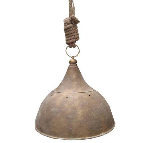 Sweet Living Hanglamp Koper/Jute - 41xh43 cm