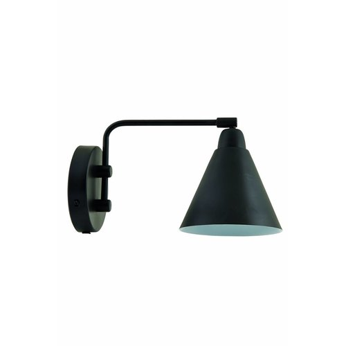 House Doctor Wandlamp Game Zwart/Wit - 20 cm