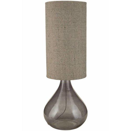 House Doctor Dark Grey Tafellamp - 34x64 cm