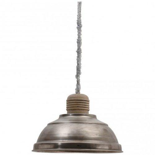 PTMD Industriële hanglamp ijzer - 51x51x53 cm