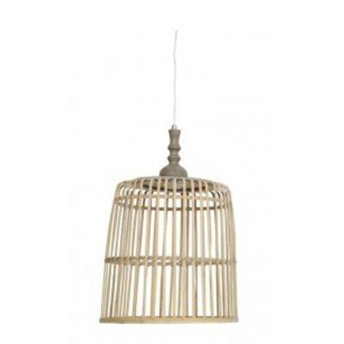 Light & Living Naturel Hanglamp Malakka - 39x40 cm