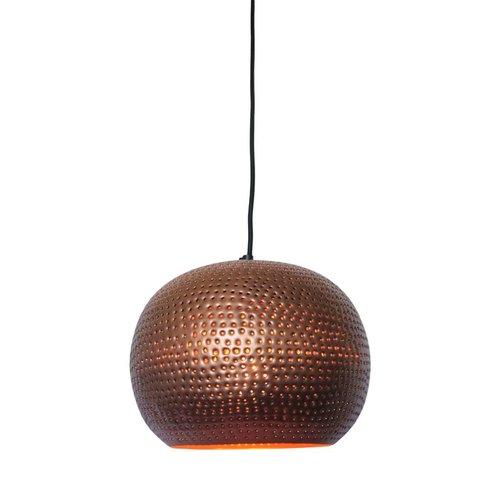 Sweet Living Hanglamp Spike Bol Koper - 27x21 cm