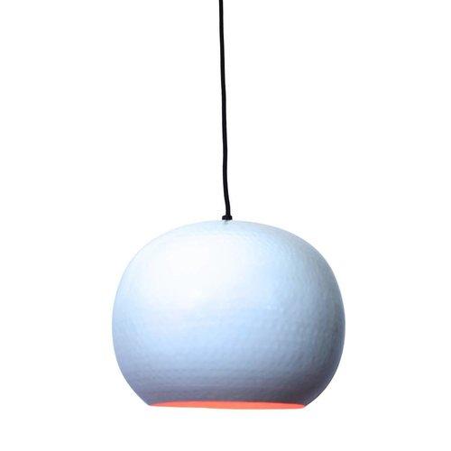 Sweet Living Hanglamp Artisan Glossy Wit - 27x21 cm