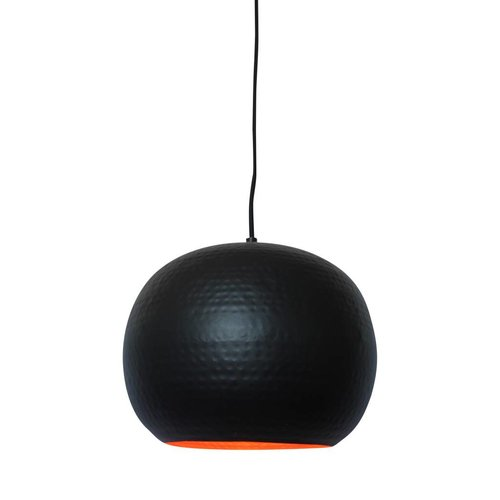 Sweet Living Hanglamp Artisan Zwart - 27x21 cm