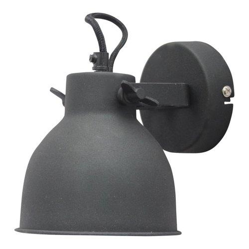 Sweet Living Wandlamp Industrial vintage black - 14x16x19 cm
