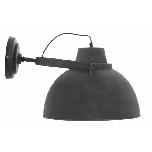 Sweet Living Wandlamp vintage grey - 40x30 cm