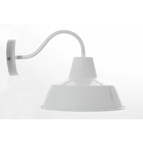 Sweet Living Wandlamp Shade wit - 27x19x34 cm