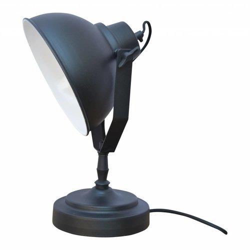 Sweet Living Tafellamp Vintage Black - 20x39x18 cm