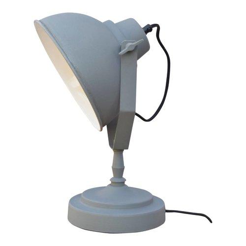 Sweet Living Tafellamp Vintage Grey - 20x39x18 cm