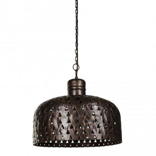 PTMD Koperen Hanglamp Stips - 42 cm
