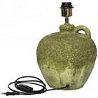 PTMD Lampenvoet keramiek mosgroen - 25x25x26 cm