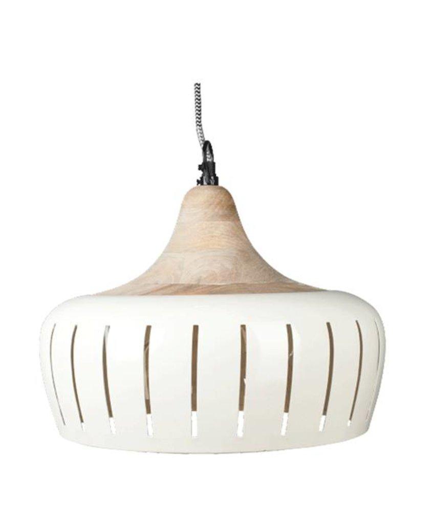 Braxton Home Collection Hanglamp Jamie Ivoor - 30cm