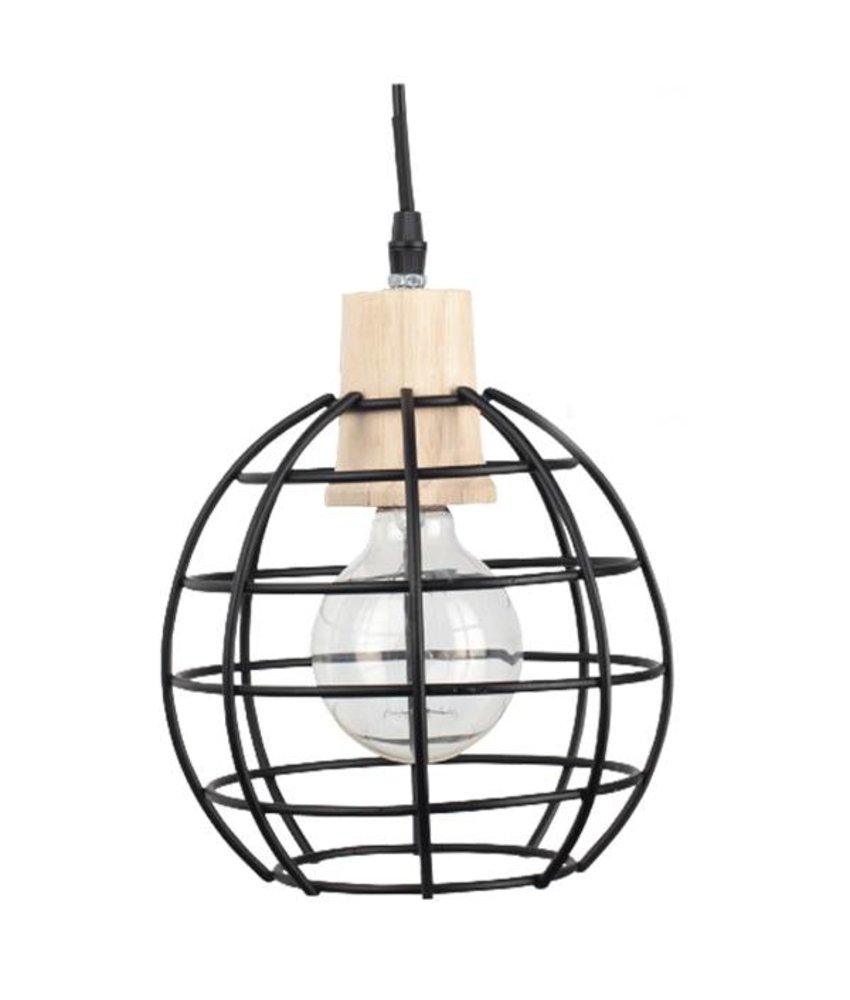 Braxton Home Collection Hanglamp Lex Rond - 27cm