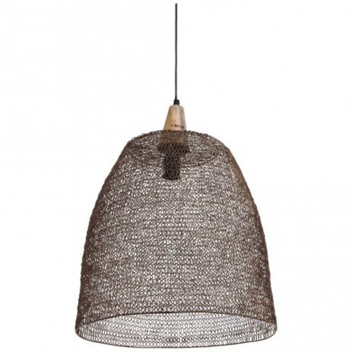 PTMD Hanglamp Tinn ijzer - 40x40x50 cm