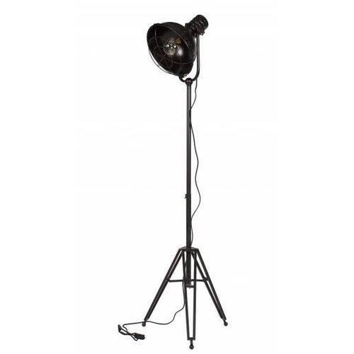BePureHome Vloerlamp Spotlight zwart - 167x54x45 cm