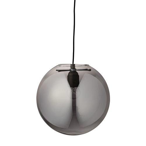 Bloomingville Hanglamp Glas Smoke - Ø35cm