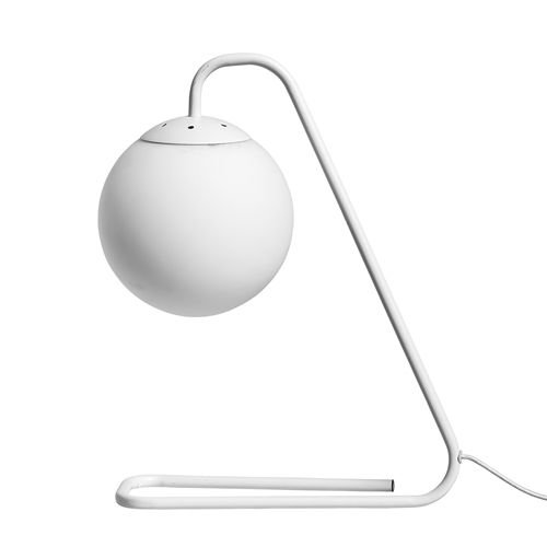 Bloomingville Tafellamp mat wit -  Ø31x10x41 cm