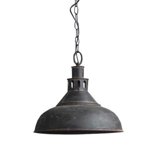 Sweet Living Zwarte metalen hanglamp - Ø36xH33 cm