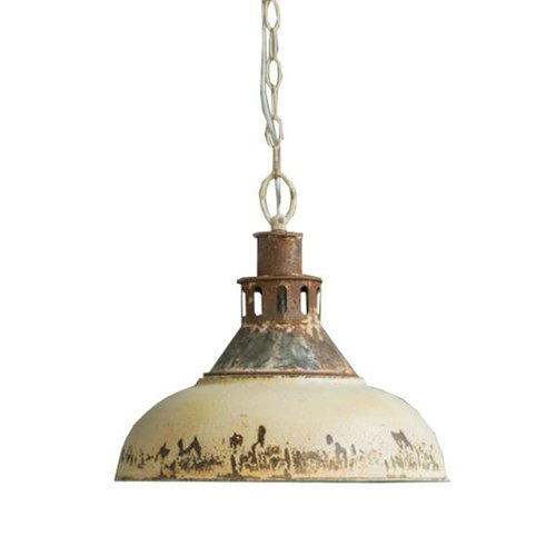 Sweet Living Crème metalen hanglamp - Ø36xH33 cm