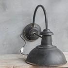 Sweet Living Wandlamp Zwart - 31x48x40 cm