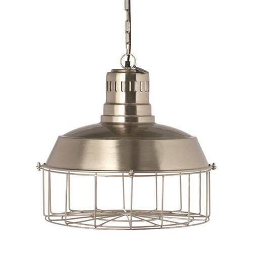 Riverdale Hanglamp Hamilton Zilver - Ø46xH42 cm