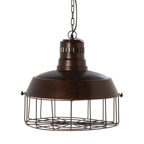 Riverdale Hanglamp Milton Brons - Ø46xH42 cm