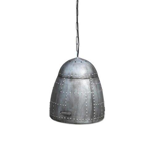 By-Boo Hanglamp Rivet Zilver - Ø45 cm