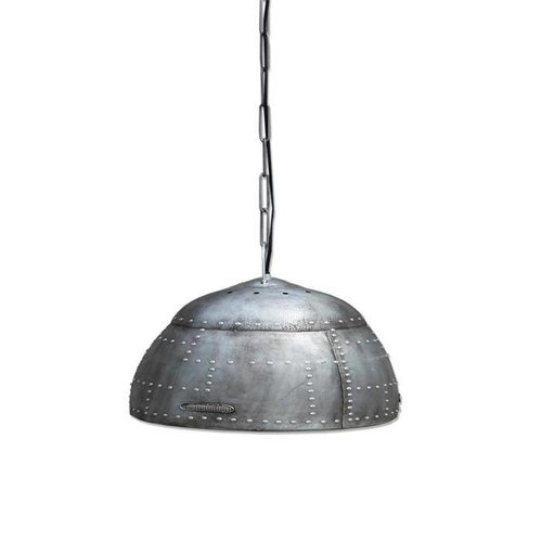 By-Boo Hanglamp Rivet Zilver - Ø60 cm