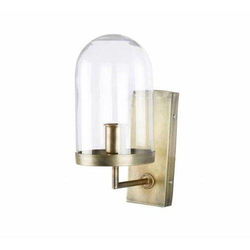 BePureHome Wandlamp Antiek Messing - Ø28xH36 cm