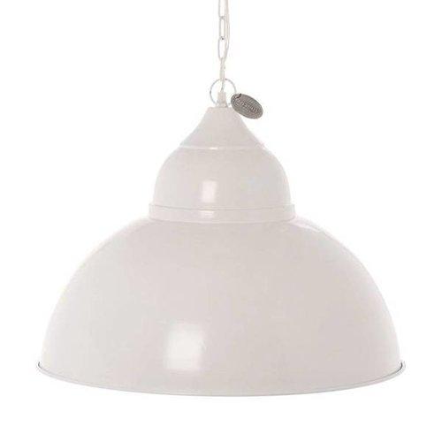 Riverdale Witte Hanglamp Milton - Ø52xH40 cm