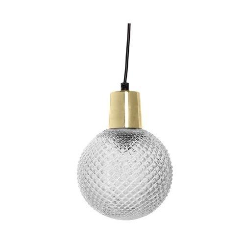 Bloomingville Hanglamp Transparant Glas - Ø14xH19 cm