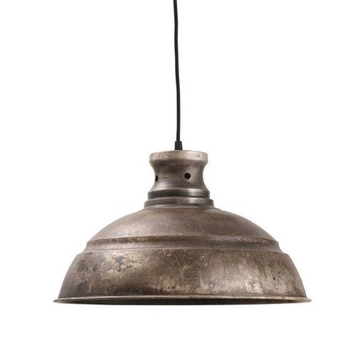 PTMD Hanglamp Walton Grijs - Ø40xH24 cm