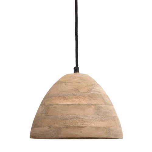 PTMD Hanglamp Northern Mangohout - Ø24xH14 cm