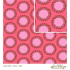 Amy Butler Baumwollstoff Laurel Dots cherry