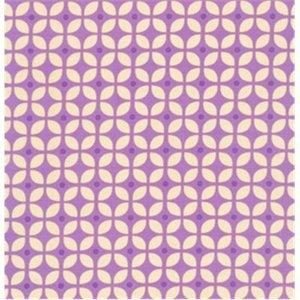 Baumwollstoff Blossom purple