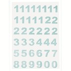 GreenGate Calender Numbers Ida pale blue, 1-24