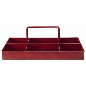 GreenGate Iron Storage Tray red