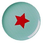 Rice Melamine Plate Star