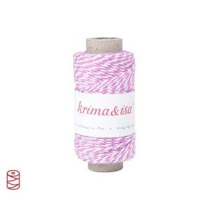 Krima & Isa Garnrolle mini, 35 m rosa